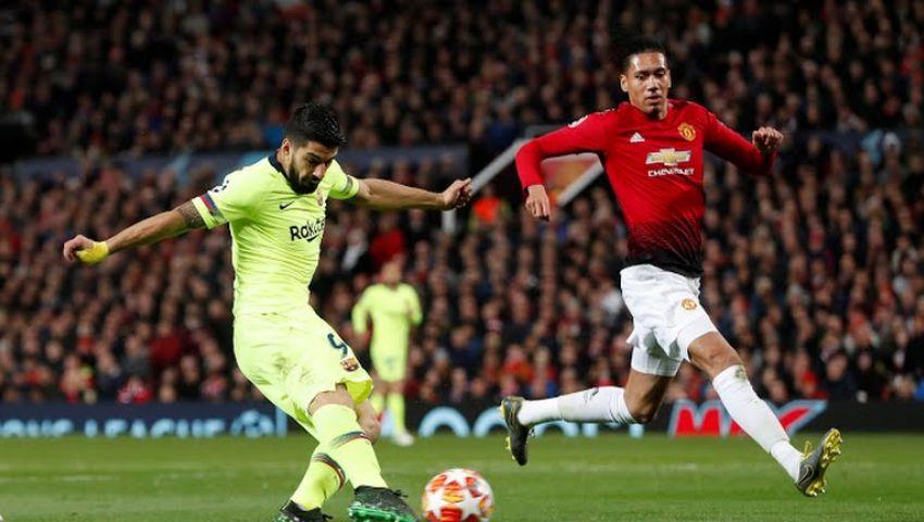 إنفوجراف| برشلونة vs مانشستر يونايتد.. التشكيل الرسمي