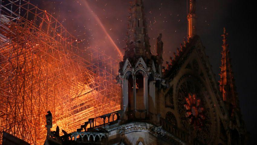 تعرف على ألغاز وأسرار «نوتردام».. شاهد كيف بدت الكاتدرائية من الداخل قبل احتراقها؟