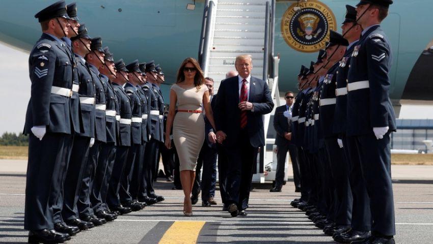 صور|طائرتين رئاسيتين وأسطول مروحيات وعربات مصفحة.. هذه هي تكلفة زيارة ترامب لبريطانيا
