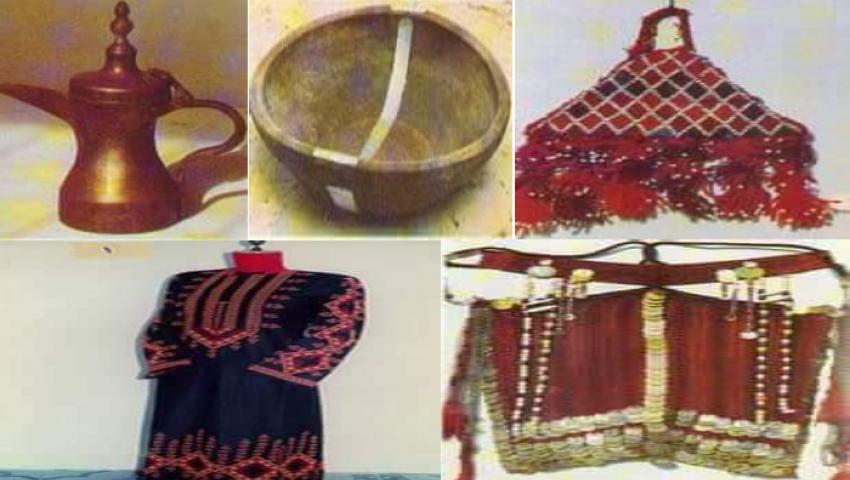 متحف التراث بالعريش.. توثيق للحياة البدوية من أدوات وطعام وزينة وأعشاب