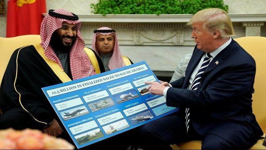 صحيفة تكشف سرًا.. ترامب تحايل على الكونجرس وسلم السعودية قنابل ذكية