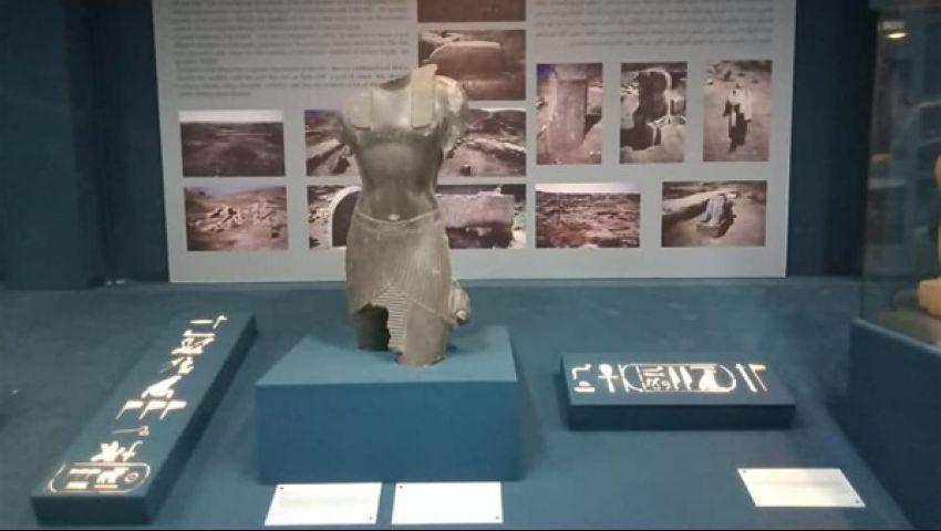 فاترينة عرض خاصة لـ3 تماثيل مهمة.. تفاصيل افتتاح متحف طنطا الأثري