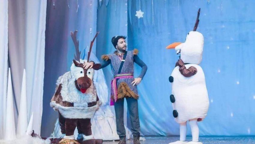 بالصور| في عيد الأضحى.. الأطفال على موعد شخصيات ديزني على المسرح