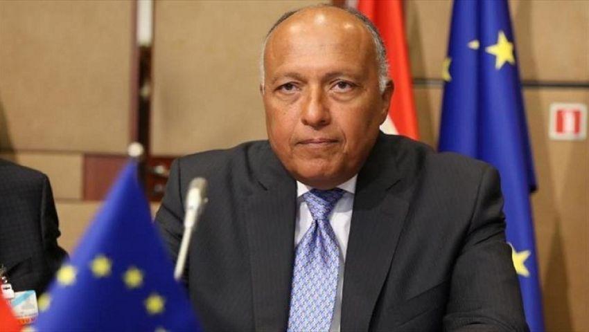 وزير الخارجية: مصر تعاني من فقر مائي شديد.. ولدينا إرادة لإنهاء أزمةسد النهضة