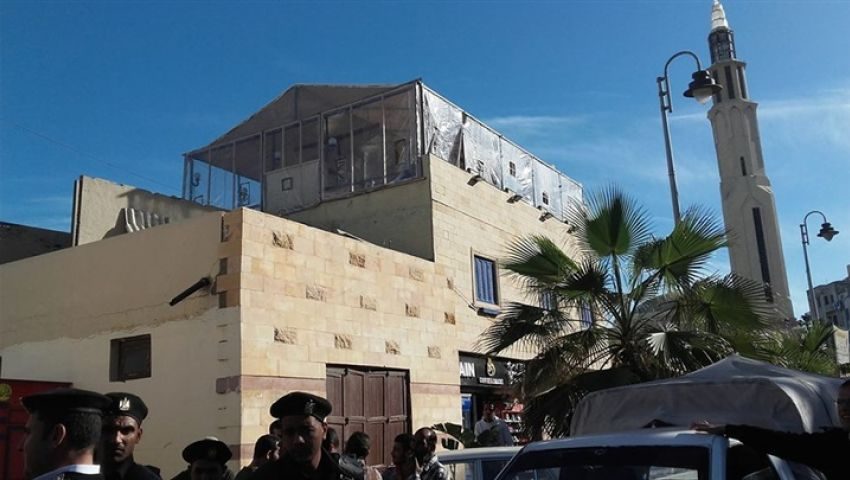 بالصور  «عرض مستمر».. 3 جهات تتصارع على أرض قايتباي بالإسكندرية