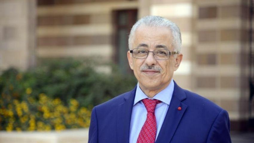 وزير التعليم يفتتح عدة مشروعات بجنوب سيناء في عيدها القومي