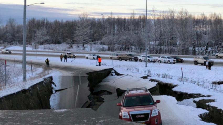 زلزال يضرب ألاسكا الأمريكية.. وتحذير من تسونامي
