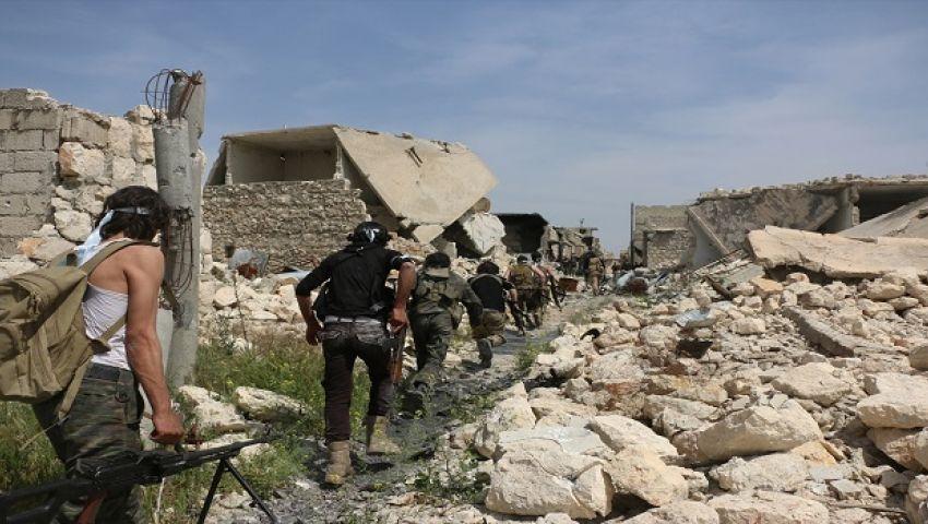مسلحو المعارضة السورية تتقدم في حماة على حساب قوات الأسد
