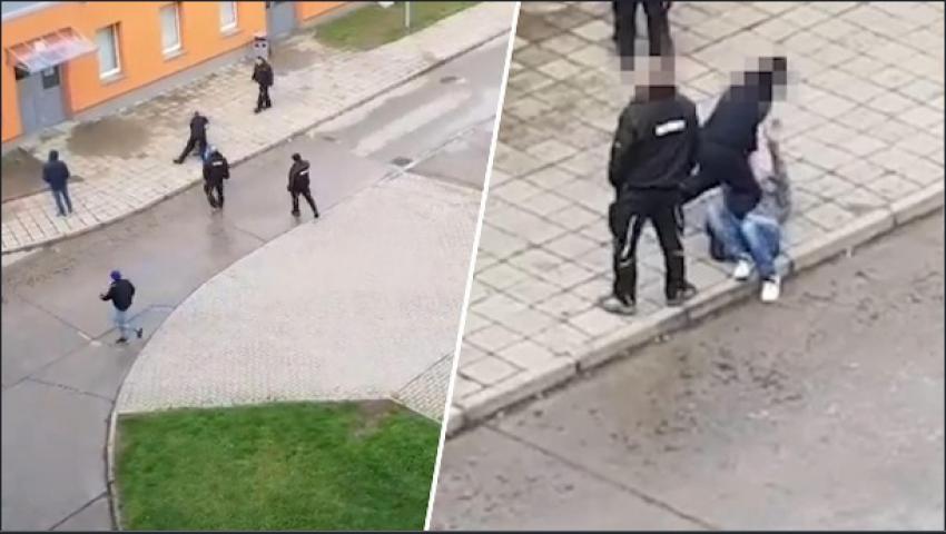 شاب مصري يتعرض لاعتداء عنصري في ألمانيا
