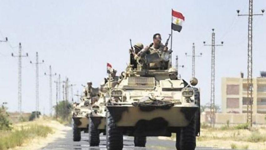 بدء أكبر عملية عسكرية في شمال سيناء
