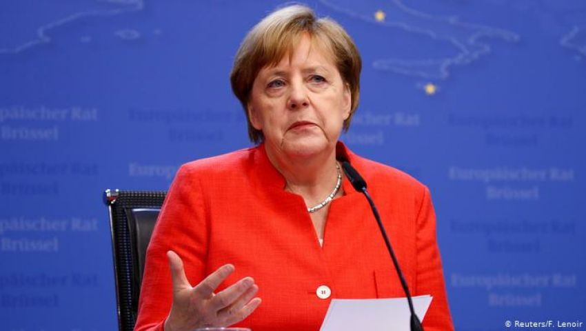 ميركل تجدد رفض إعادة التفاوض على اتفاق خروج بريطانيا