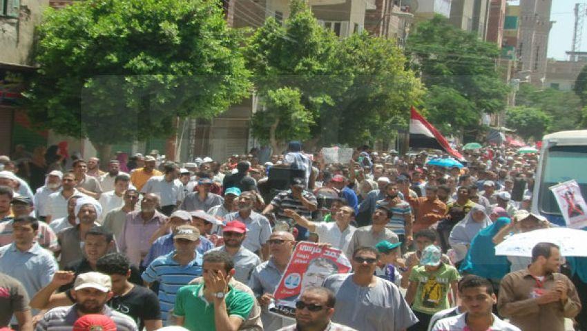 تشييع جنازة فقيد دار الحرس الجمهوري بصفط راشين