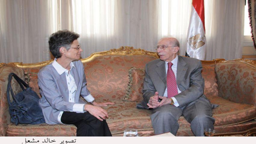 رئيسة جديدة للجنة الدولية للصليب الأحمر بالقاهرة