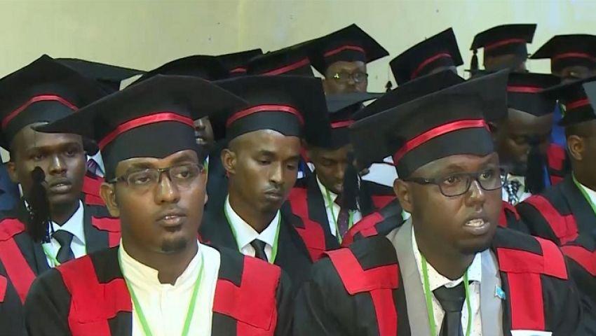 بعد انقطاع دام 28 عامًا.. جامعة صومالية تحتفل بتخريج أول دفعة
