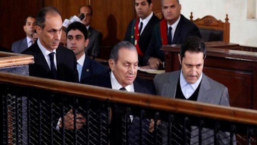 فيديو| النص الكامل لشهادة مبارك ضد مرسي في قضية «اقتحام السجون»