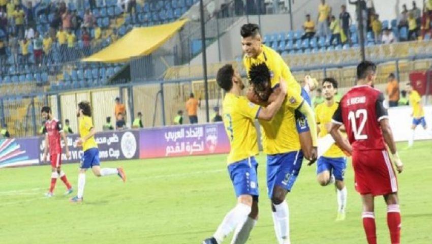 فيديو| شيلونجو يقود الإسماعيلي لفوز ثمين على الجزيرة الإماراتي
