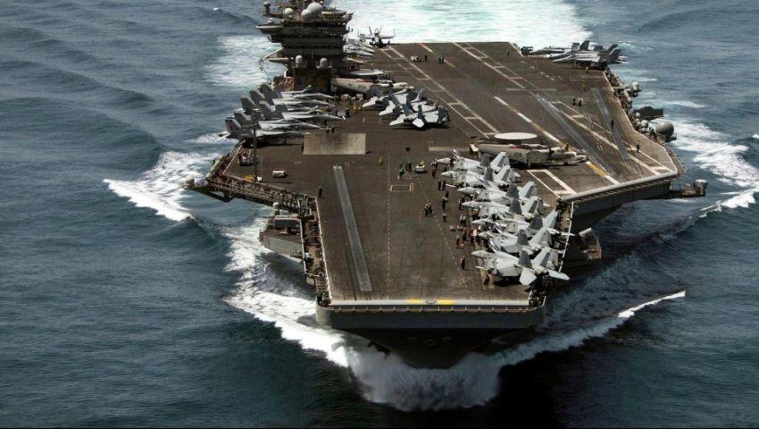 «لا نسعى للحرب .. لكننا جاهزون».. أمريكا ترسل حاملة طائرات وقاذفات كتحذير لإيران
