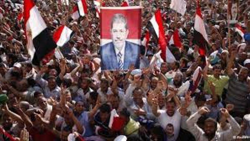 مسيرات حاشدة من مسجد علي بن أبي طالب ببني سويف
