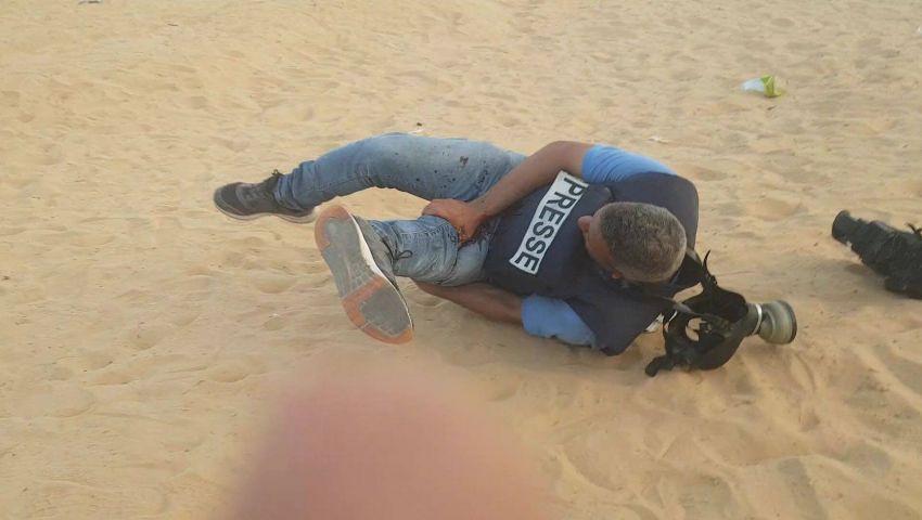 فيديو| اعتداءات إسرائيلية مروعة ضد صحفيي فلسطيين لإخفاء الحقيقة القاسية