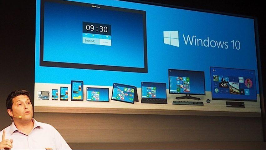 مايكروسوفت تنتهي من ويندوز 10