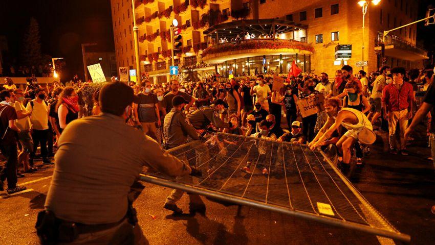 رغم قيود كورونا..  الاحتجاجات تتسع ضد نتنياهو