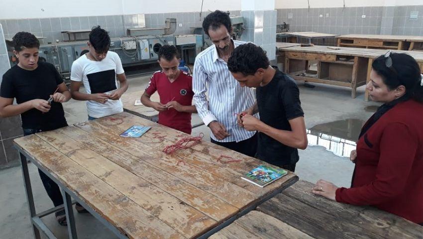 انطلاق امتحانات المواد العملية والمعملية لطلاب الدبلومات الفنية