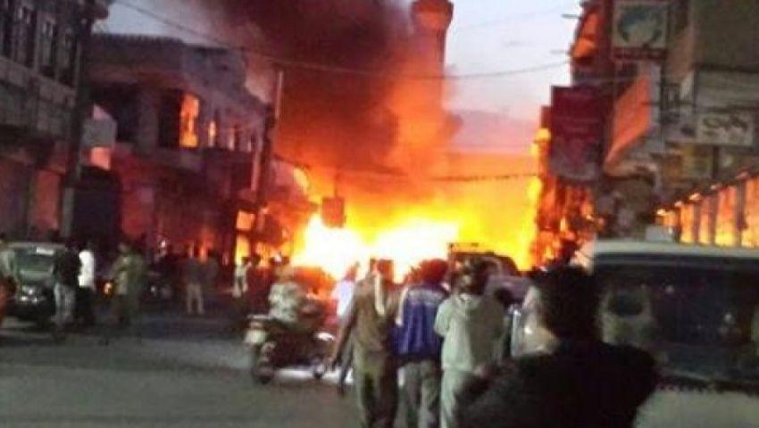انفجارات عنيفة تهز العاصمة اليمنية صنعاء