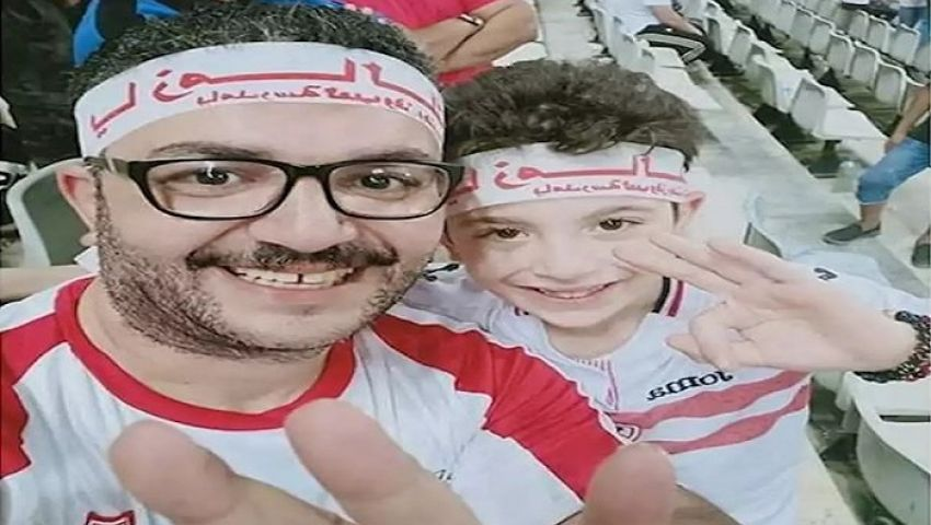 فيديو| طفل الزمالك صدمة ومبرر ومواساة على هامش قمة السوبر