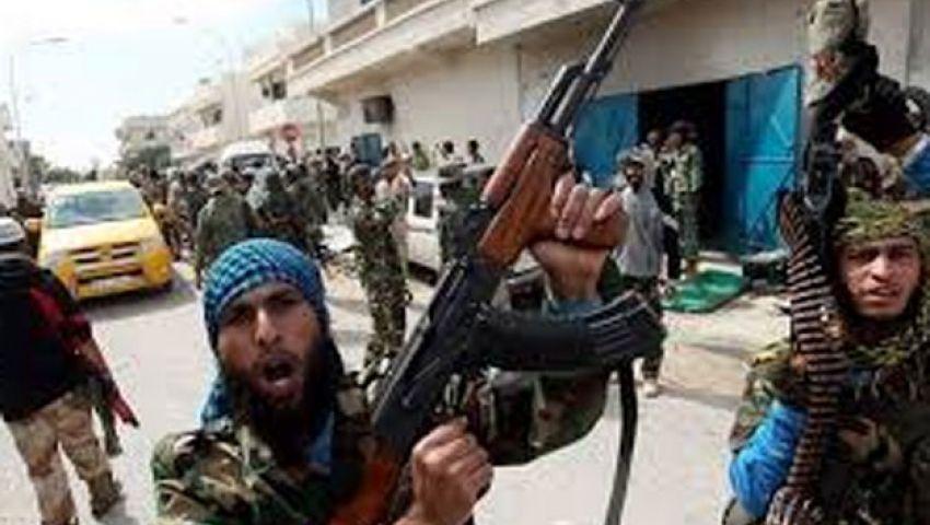 انسحاب عناصر الكتيبة المسلحة من غرغور الليبية