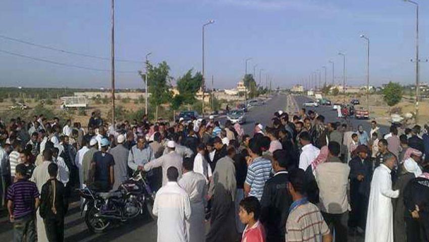قطع طريق زفتى المنصورة بسبب مصرع طفل