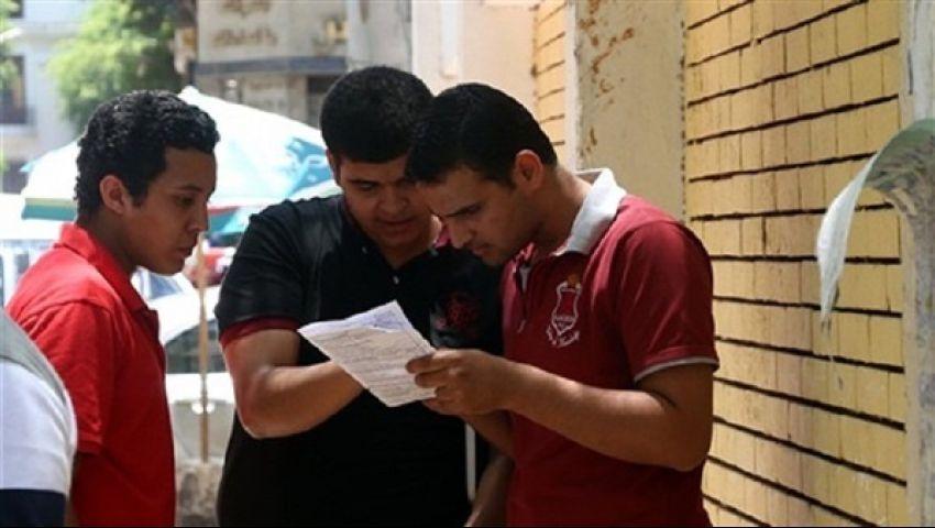 اليوم.. طلاب أولى ثانوي يؤدون امتحان الأحياء فى الاختبارات التجريبية