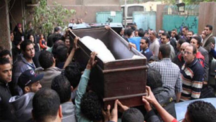 تشييع جثمان قتيل مظاهرات 30 يونيو بالإسكندرية