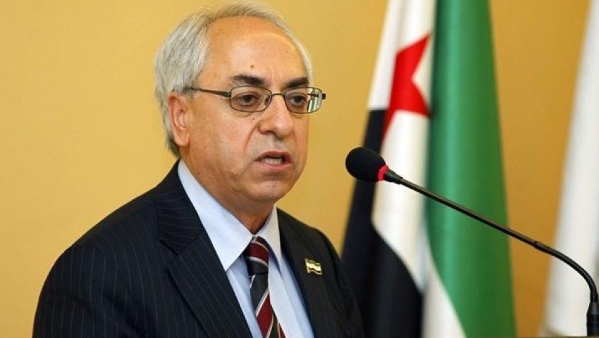 رئيس المجلس الوطني السوري السابق يهاجم بشار اﻷسد وحزب الله