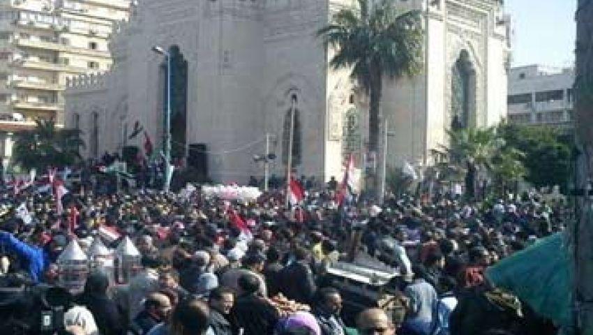 إخوان الإسكندرية يواصلون فعالياتهم المطالبة بعودة مرسي