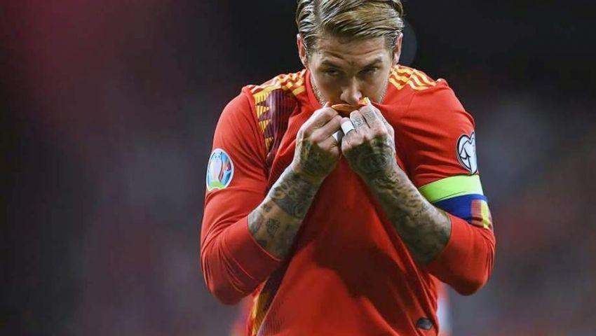 فيديو| رقم قياسي جديد.. راموس أكثر اللاعبين مشاركة في تاريخ إسبانيا