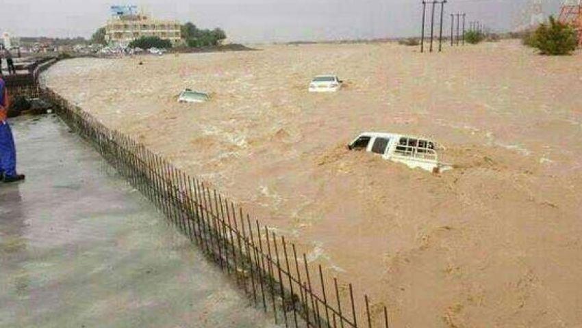السعودية تغرق في شبر مية