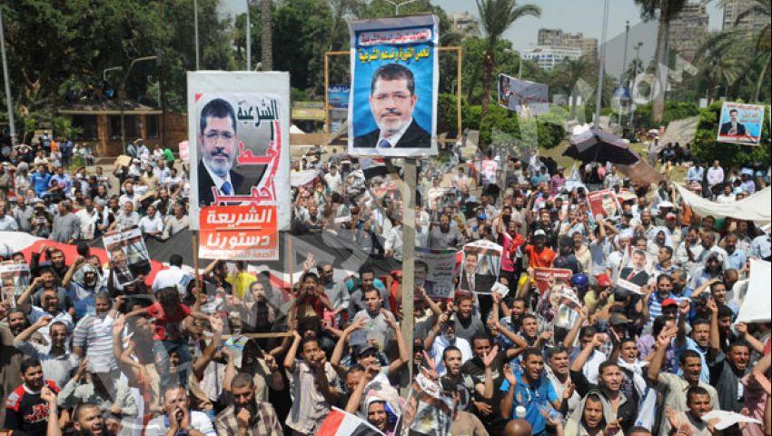 معتصمو النهضة: نشكر الجيش لحمايتنا من بلطجية الشرطة