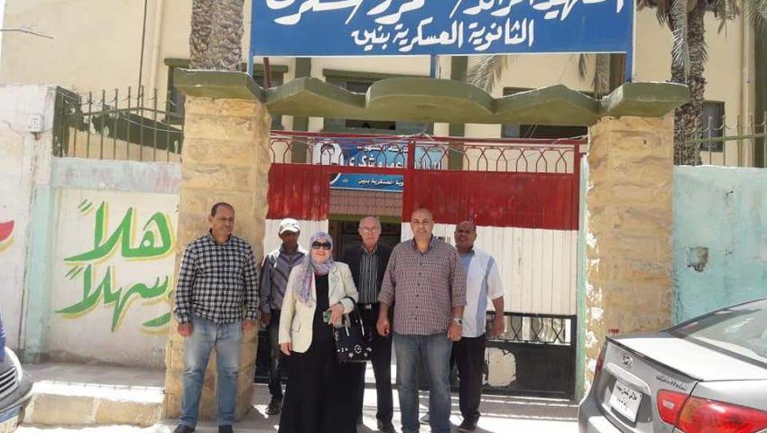 صور.. تعليم شمال سيناء: نجاح امتحان الأحياء لأولى ثانوي إليكترونيا