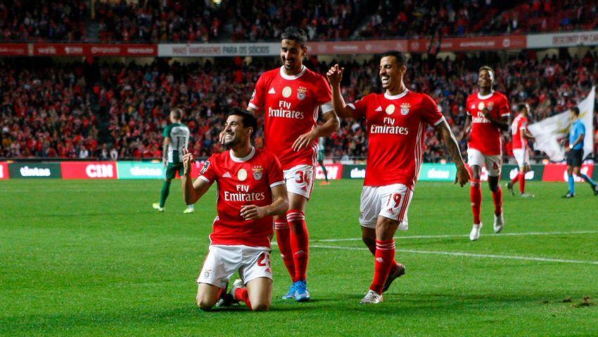 فيديو وصور| بنفيكا يمدد مسلسل انتصاراته..  وينفرد بقمة الدوري البرتغالي