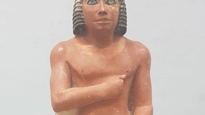 روائع الفن في الدولة القديمة.. المتحف المصري الكبير يستقبل 140 قطعة أثرية