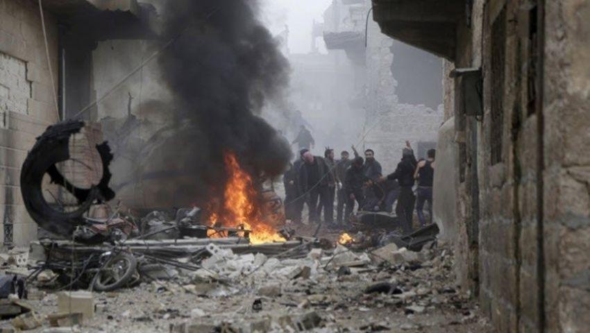 فيديو.. قصفٌ في منطقة خفض التصعيد يُسقط قتلى سوريين