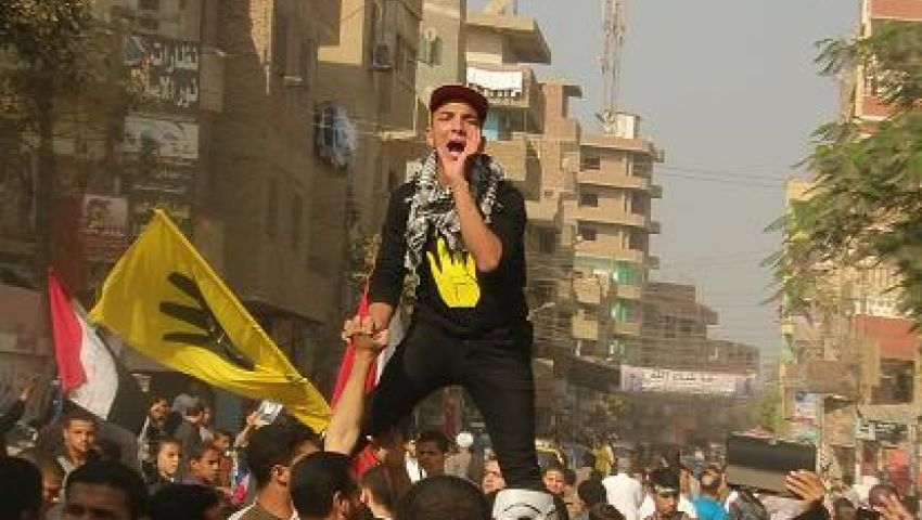 ألتراس بني سويف يشعل مسيرات لا للعدالة الانتقامية