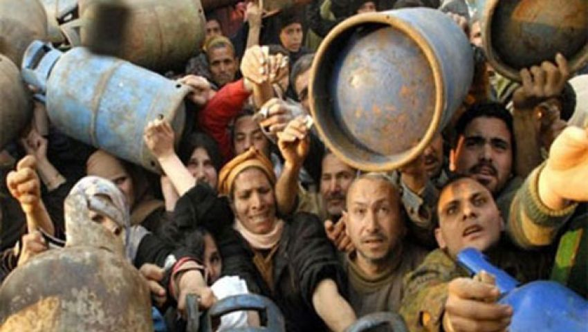 اشتباكات بين الأمن وأهالي فايد بسبب أسطوانات البوتاجاز