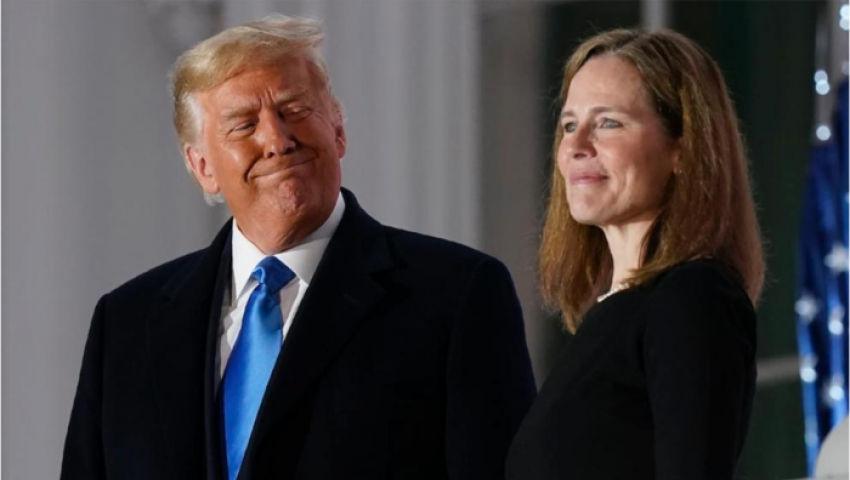 ترامب والمحكمة العليا.. هل ترد القاضية باريت «الجميل» للجمهوريين؟