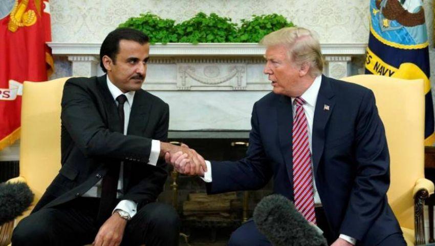 شبيجل: «دفتر شيكات» تميم يغير أسلوب معاملة ترامب لقطر 180 درجة