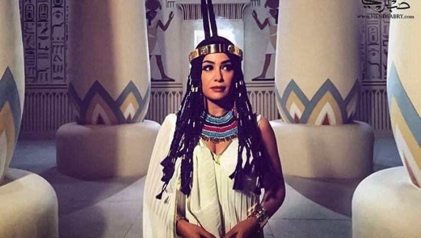 صور  بعد  الهجوم عليها .. هند صبري فنانة تألقت بالتاريخ المصري