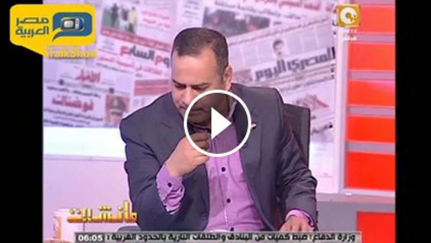 فيديو.. القرموطي: صحفيو الحرية والعدالة لا علاقة لهم بتنظيم الإخوان