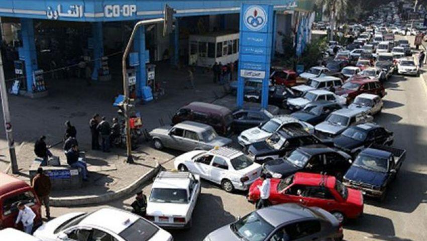 الحكومة تستبعد ارتفاع الطلب على الوقود بذكرى الثورة