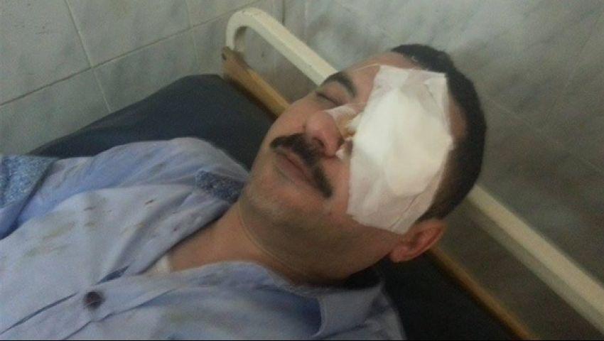 النيابة تحقق في اعتداء ضابط علي محامي بالمنيا