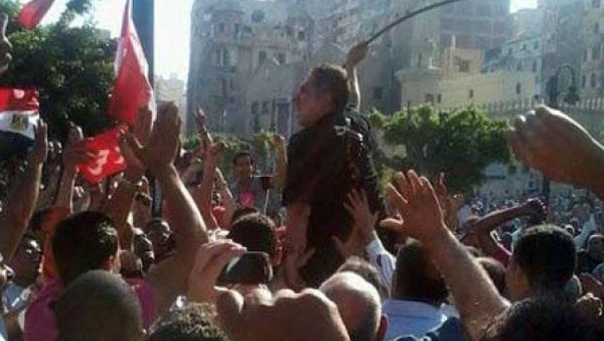 هيومن رايتس: رجال شرطة نظموا احتجاجات ضد مرسي